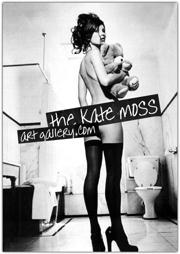 the kate moss art gallery